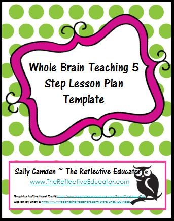 Lesson Plan Template The Reflective Educator