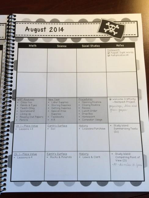 curriculum planner