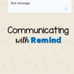 Communicating with Remind