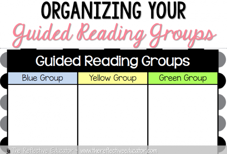 Organizing Students for Guided Reading Groups