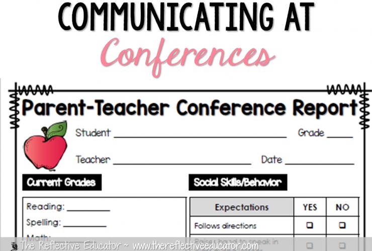 Communicating at Parent-Teacher Conferences