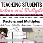 Teaching Students Factors and Multiples