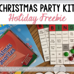 Christmas Party Kit Holiday Freebie