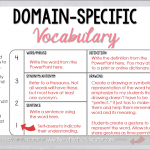 Domain-Specific Vocabulary