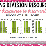 Long Division Resources for Response to Intervention