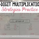 2-Digit Multiplication Strategies Practice