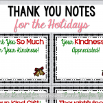 Holiday Thank You Notes