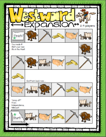 Game Board Westward Expansion