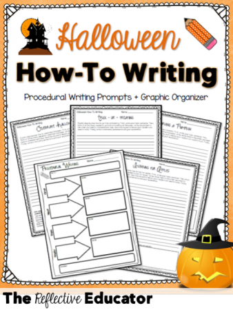 Halloween How-To Writing