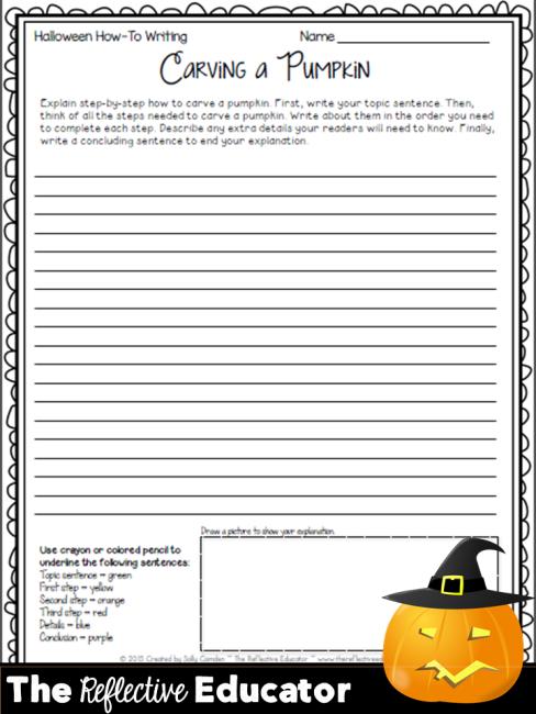 Halloween How-To Writing