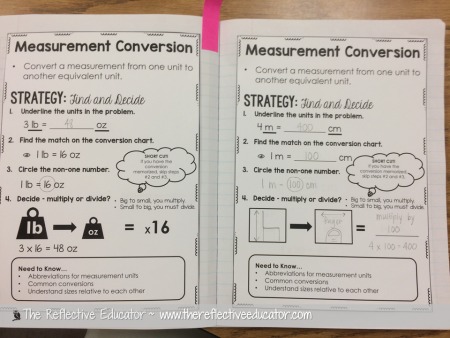 Easy Strategies For Measurement Conversion The Reflective Educator