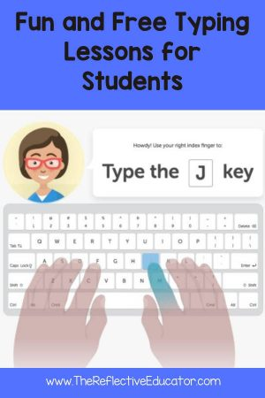 Fun and Free Typing Lessons for Students - The Reflective