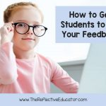 How to get students to use your feedback