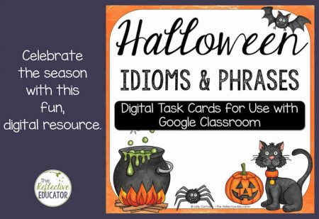 Halloween Idioms product cover for blog