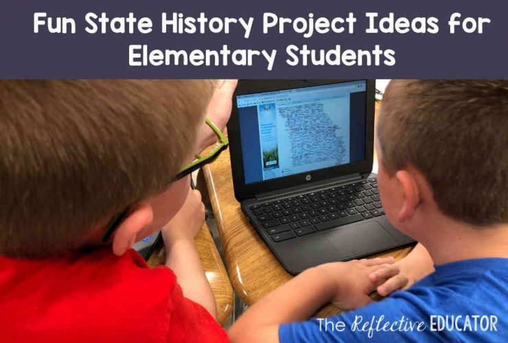 Fun State History Project Ideas for Elementary Students