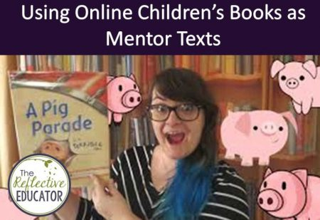 Using Online Children's Books as Mentor Texts